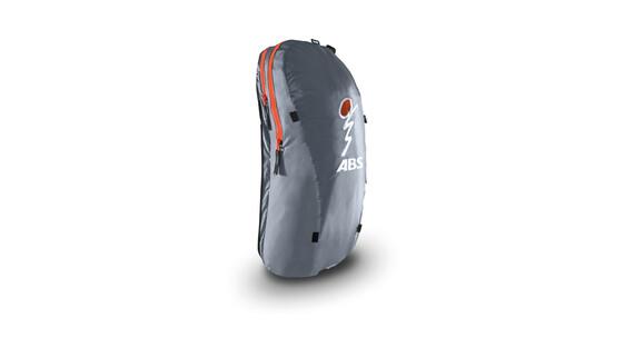 ABS Vario Zip-On 8 Ultralight lawine rugzak grijs/oranje